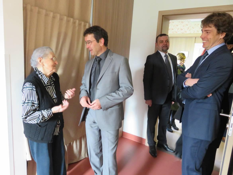 Obisk podpredsednika vlade in ministra Koprivnikarja