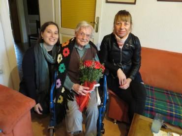 Praznovanje 100.rojstnega dne gospe Stanislave